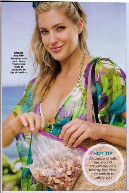 February 2011 issue of Shape magazine, p. 172