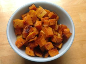 Monica Reinagel's Roasted Squash Recipe