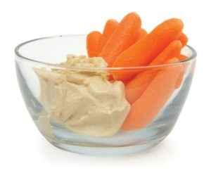 carrots hummus