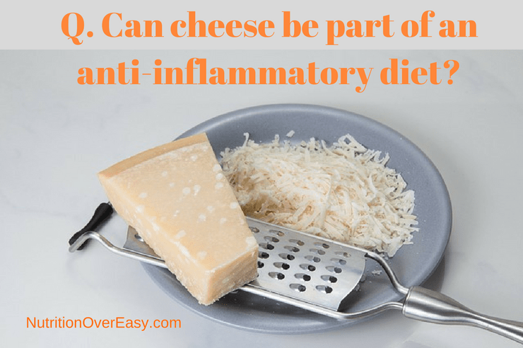 does cheese cause inflammation